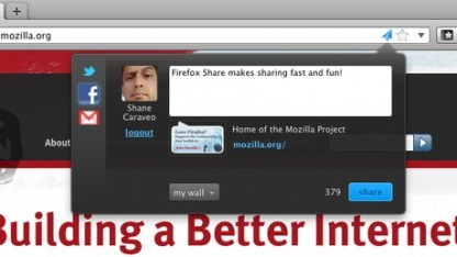 Firefox Share statt Share-Buttons