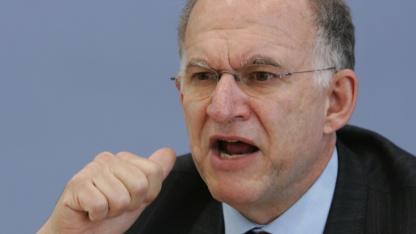 Der Bundesdatenschutzbeautragte Peter Schaar im April 2008