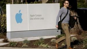 Am Konzernsitz von Apple