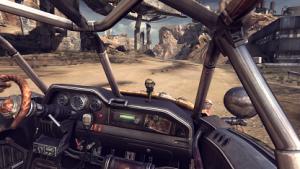 Fahrt im Rage-Buggy