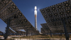 Strom nicht nur bei Sonne: solares Turmkraftwerk Gemasolar
