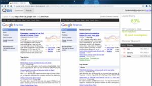 Qualitybots zeigt Webseiten in verschiedenen Chrome-Vorabversionen.