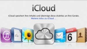 Mac OS X 10.7.2 mit iCloud-Anbindung