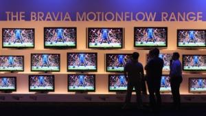 Sony-Bravia-Fernseher auf der Ifa