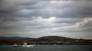 Fischerboot vor Schottland: GPS-Geräte funktionierten nicht.