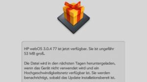 Das Update auf WebOS 3.0.4 bringt eine neue Kameraapplikation mit.