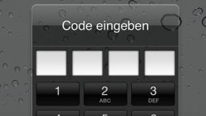 Die iPad-2-Code-Abfrage lässt sich unter iOS 5 leicht umgehen.