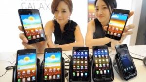 Samsung erringt Marktführerschaft mit Android-Smartphones.