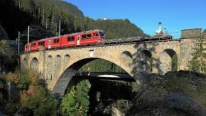 Spektakuläre Szenerie: das Street-View-Trike in den Alpen