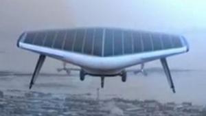 Nicht leichter als Luft, aber leichter als ein Flugzeug: Solar Ship