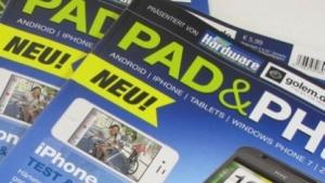 Die erste Ausgabe von Pad & Phone ist da.