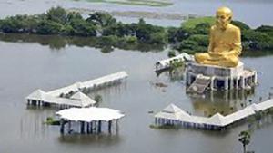 Überflutungen in Thailand