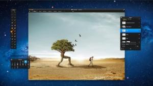 Pixelmator eifert dem großen Vorbild Photoshop nach.
