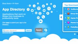 Skype will die Entwicklung von Applikationen mit Skypekit und einem App Directory fördern.
