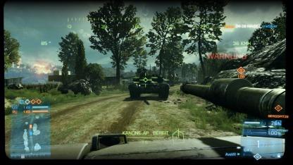Panzerduell im Mehrspielermodus von Battlefield 3