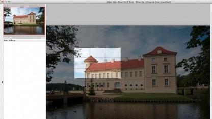 Blow Up 3 von Alien Skin kann Bilder ohne Pixelstufen vergrößern.