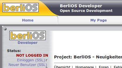 Das BerliOS-Repository wird zum Jahresende abgeschaltet.