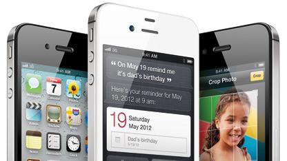 Die Akkulaufzeit des iPhone 4S liegt unter der seines Vorgängers.