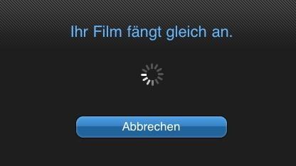 Mit der Lovefilm Player App wird das iPad zum kleinen Kino.