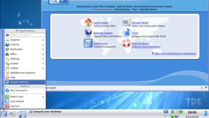Wird immer noch unterstützt: KDE 3.5 als Trinity Desktop Environment