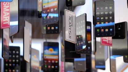 Galaxy-Smartphones verhelfen Samsung zur Marktführerschaft.