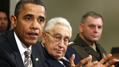 James Cartwright (r.) mit US-Präsident Obama