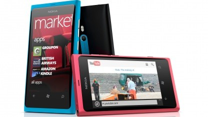 Nokias Lumia 800 ist für Telefónica zu teuer.