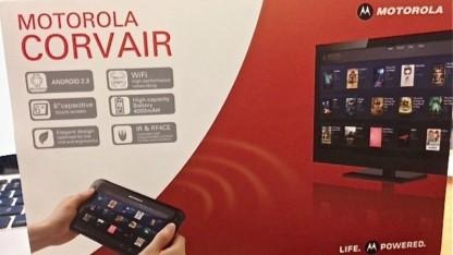 Motorola arbeitetet offenbar an einem Fernbedienungstablet mit Android.