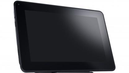 Dells Latitude ST ist ein Tablet-PC mit Windows 7.