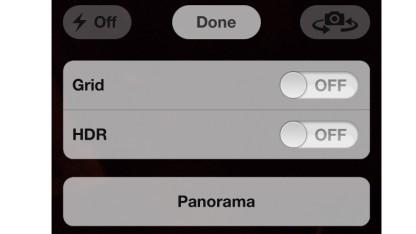 Die Panoramafunktion in iOS 5