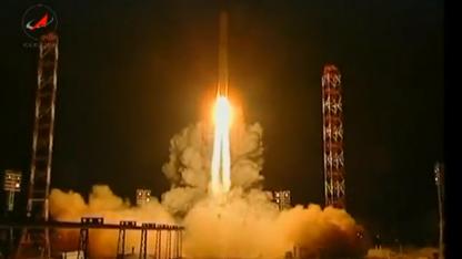 Start in Baikonur: Probleme nach der Trennung von der Trägerrakete