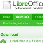 Office: Libreoffice 3.4.4 korrigiert Fehler
