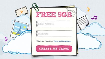 5 GByte kostenloser Onlinespeicher