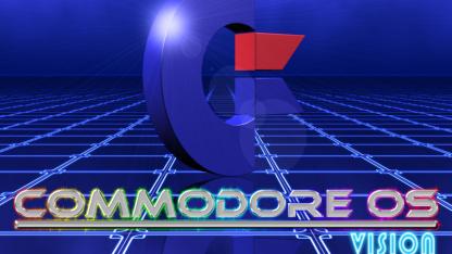 Commodore OS Vision ist eine Linux-Distribution im Retro-Look.