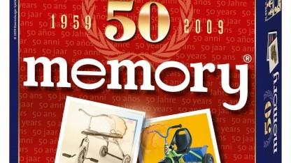 50 Jahre Memory - Ravensburger-Sonderedition von 2009