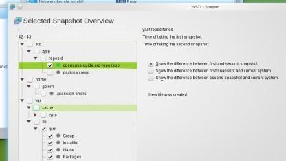 Mit Snapper wird die Systemsicherung sehr leicht.