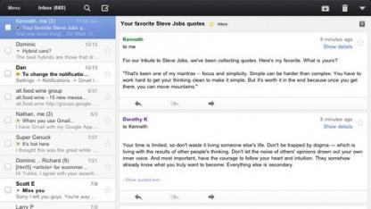 Google Mail für iOS