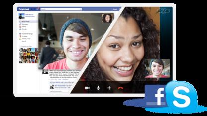 Facebook-zu-Facebook-Telefonate nun auch mit dem Skype-Client