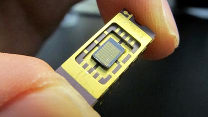 Optochip mit Nano-LEDs