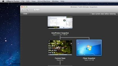 Fusion 4.1 ermöglicht die Virtualisierung älterer OS-X-Versionen.