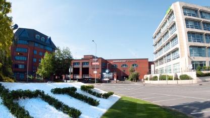 HTCs Europa-Zentrale in Großbritannien