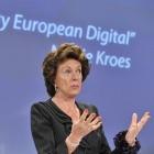 EU-Kommissarin Neelie Kroes: Urheberrecht ist beim Bürger verhasst