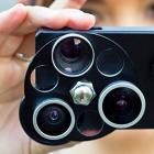 iPhone-Kamera: Wechselobjektive mit Revolvermechanismus