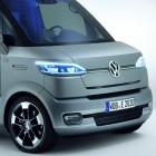 VW: Elektrolieferwagen eT! folgt dem Zusteller automatisch