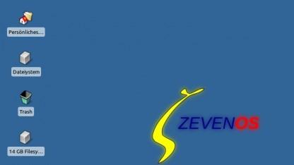ZevenOS bildet die BeOS-Oberfläche nach.
