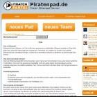 Piratenpartei: Piratenpad wegen Kinderpornografie abgeschaltet