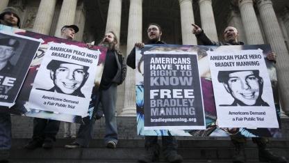 Keine Gefährdung der nationalen Sicherheit: Solidaritätskundgebung für Bradley Manning zu Thanksgiving in London