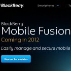 Blackberry Mobile Fusion: Geräteverwaltung für iPhone, iPad und Android-Geräte