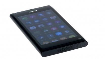 Nokias N9 ist mit dem Meego-Betriebssystem ausgestattet.