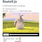 Route9.js: VP8-Decoder in Javascript